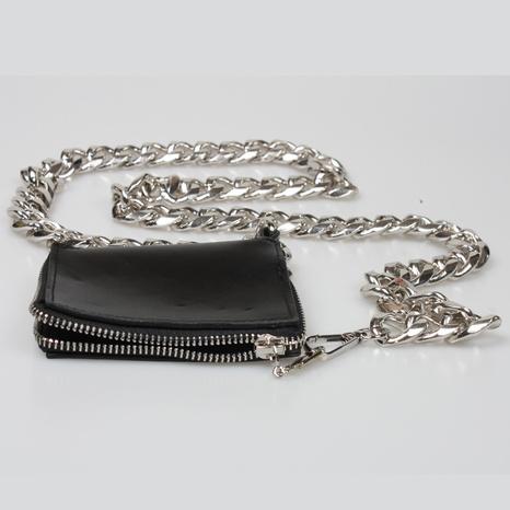 Dicke Eisenkette dekorative Mini-PU-Brusttasche Großhandel Nihaojewelry NHJSR432694's discount tags