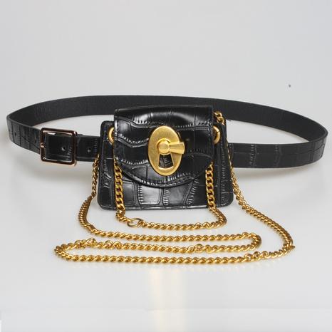 neue mehrfach verwendbare Krokodilmusterkette kleine TascheGroßhandel Nihaojewelry NHJSR432698's discount tags
