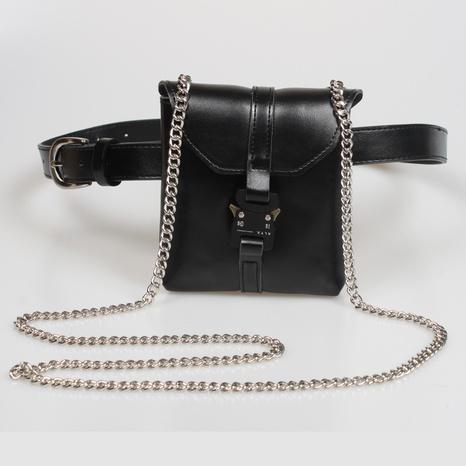 einfache dünne Gürtelkette geschnitzte Schnalle Gürteltasche Großhandel Nihaojewelry NHJSR432709's discount tags