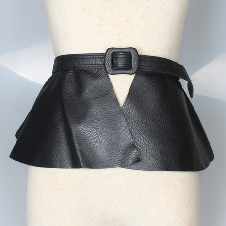 Mode-Rock-Stil extra-breiter PU-Bund Großhandel Nihaojewelry NHJSR432720's discount tags