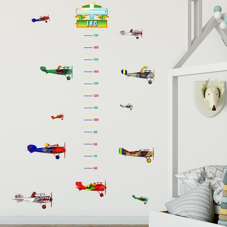 New cartoon helicopter children's bedroom porch height stickers wholesale Nihaojewelry  NHAF432789's discount tags