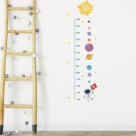 New Cartoon Sun Planet Astronaut Children's Bedroom Height Sticker Wholesale Nihaojewelry  NHAF432831's discount tags