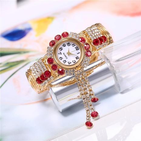 fashion new diamond bracelet strap ring set pendant bracelet watch NHHK434142's discount tags