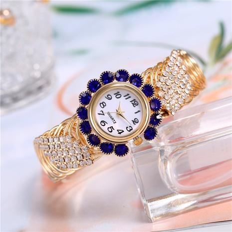 bracelet watch diamond round opening bracelet watch ladies quartz watch bowl watch NHHK434144's discount tags