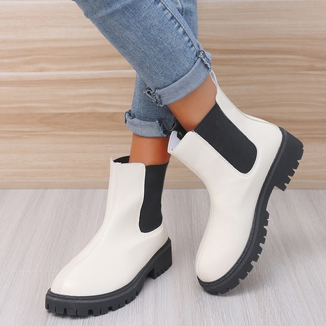 Martin boots women's foreign trade cross-border boots children's new women's boots high-heeled short boots large size shoes NHMIX435673's discount tags