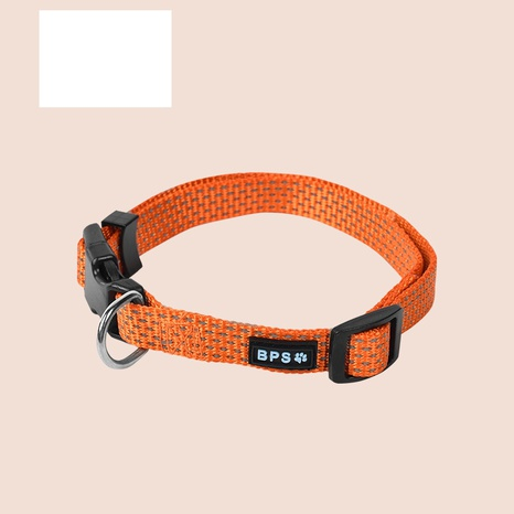 Large and medium-sized dog luminous style dog collar collar traction rope collar NHPSM435162's discount tags