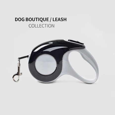 dog walking artifact can be stretched and retractable pet leash dog leash running automatically shrink NHZHX435219's discount tags