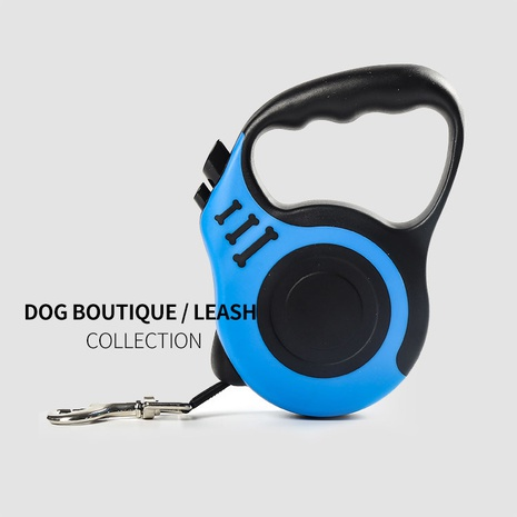 pet traction device dog traction rope automatic contraction dog rope chain dog walking supplies wholesale NHZHX435257's discount tags