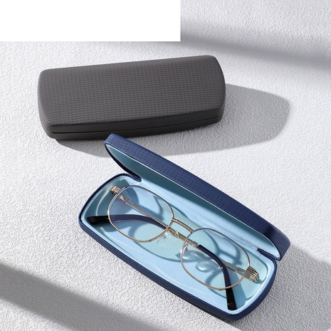 simple large-capacity solid color magnet adsorption glasses case wholesale nihaojewelry  NHVM416836's discount tags