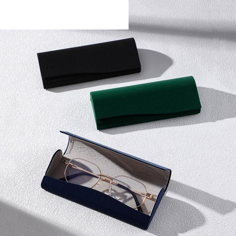 fashion solid color portable magnet adsorption glasses case wholesale nihaojewelry  NHVM416839's discount tags