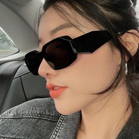 retro irregular square clashing color sunglasses wholesale Nihaojewelry NHKD416868's discount tags