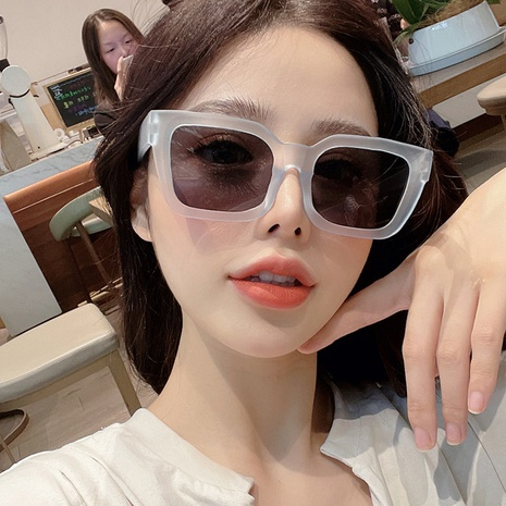 Fashion Square Frame Jelly Sunglasses Wholesale Nihaojewelry NHKD416878's discount tags