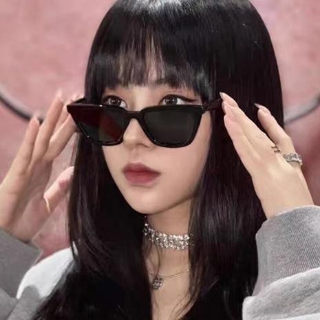 Retro solid colorcat eye sunglasses wholesale Nihaojewelry NHKD416901's discount tags