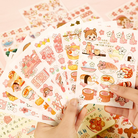 cartoon hand account material decoration stickers wholesale nihaojewelry NHDW417067's discount tags