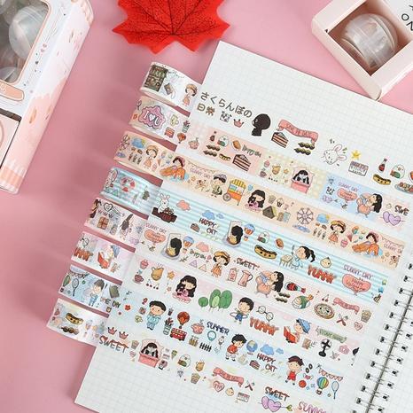 cartoon fashion hand account decoration sticker gift box set wholesale nihaojewelry NHDW417071's discount tags