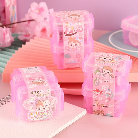 cartoon funny double-layer storage box set decoration tape sticker wholesale nihaojewelry NHDW417086's discount tags