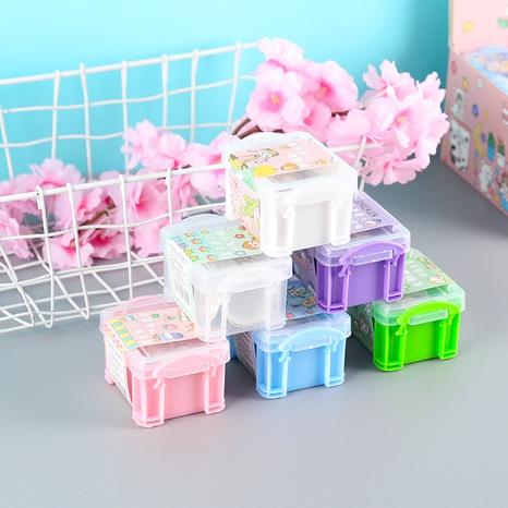 fashion cartoon storage box type hand account sticker set wholesale nihaojewelry NHDW417102's discount tags