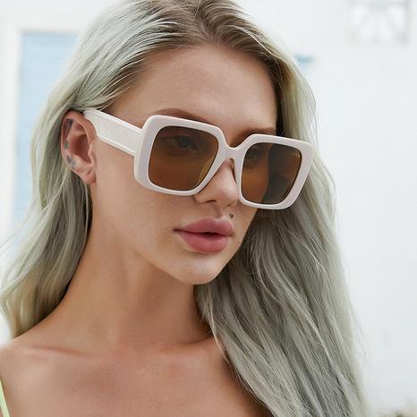retro anti-ultraviolet big square sunglasses wholesale Nihaojewelry NHLMO417138's discount tags