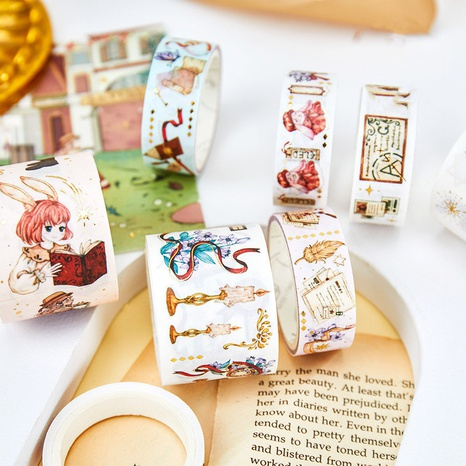 creative cartoon stationery hand account decoration stickers wholesale nihaojewelry NHDW417076's discount tags
