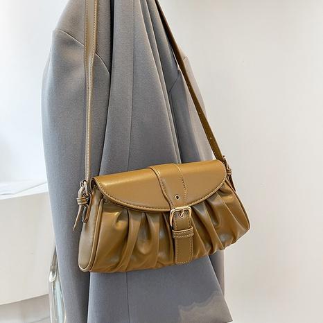 2021 new autumn underarm bag fashion fold cloud bag baguette bag NHGN436684's discount tags