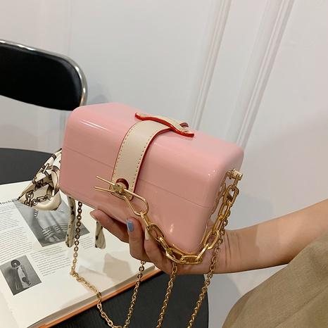 Caja de acrílico de moda, bufanda de seda, bolsa de color de contraste, venta al por mayor, nihaojewelry NHLH417700's discount tags