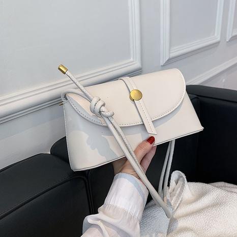 Bolso cuadrado de hombro de color sólido de gran capacidad de moda al por mayor nihaojewelry NHLH417720's discount tags