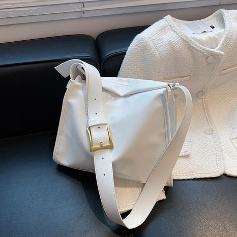 nueva moda color sólido correa hombro messenger pequeño bolso cuadrado al por mayor nihaojewelry NHLH417722's discount tags