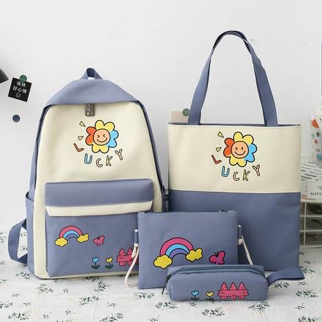 Farbe Sonnenblume gedruckt Federmäppchen Handtasche Rucksack Großhandel nihaojewelry NHTG417871's discount tags
