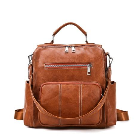 Retro-Reißverschluss tragbarer Rucksack mit einer Schulter Großhandel Nihaojewelry NHAV417966's discount tags