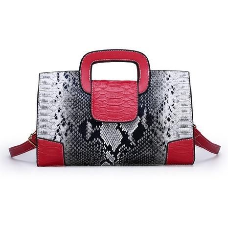 Schlangenmuster Mode Schulter Messenger Handtasche Großhandel Nihaojewelry NHAV417981's discount tags