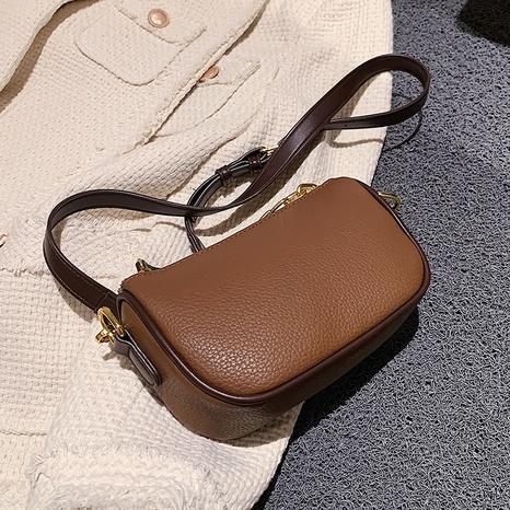 retro simple contraste color messenger pequeño bolso cuadrado al por mayor nihaojewelry NHAV418022's discount tags