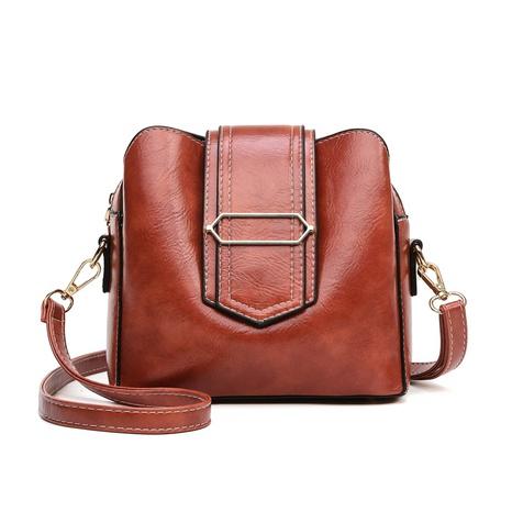 moda retro color sólido bandolera al por mayor nihaojewelry NHAV418049's discount tags