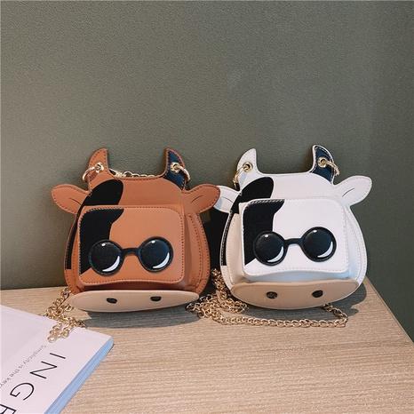 Moda divertida forma de vaca cadena bandolera al por mayor nihaojewelry NHAV418061's discount tags