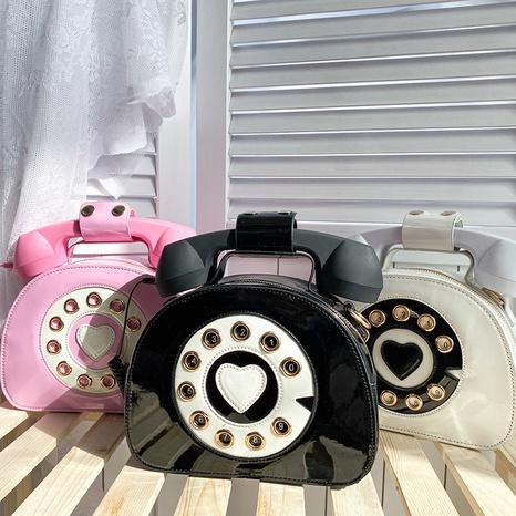 bolsa de mensajero en forma de teléfono de color de contraste divertido creativo al por mayor nihaojewelry NHAV418062's discount tags