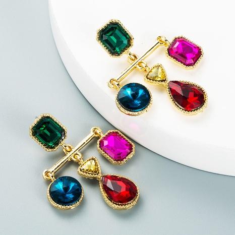 retro simple baroque cross tassel pendant earrings wholesale Nihaojewelry  NHLN419809's discount tags