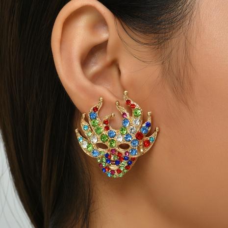 Halloween Farbe Diamantohrringe Großhandel Nihaojewelry NHYAO419780's discount tags