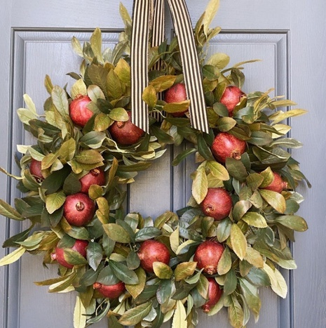 New Festival Pomegranate Fruit Garland Ornaments Wholesale Nihaojewelry  NHGAL419269's discount tags
