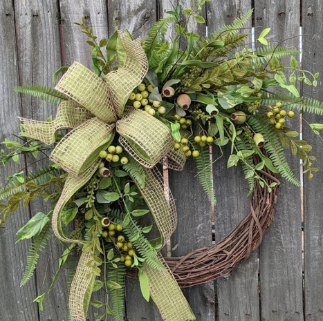 Poppy Plant Garland Dead Branch Rattan Ring Door Hanging Wholesale Nihaojewelry  NHGAL419272's discount tags