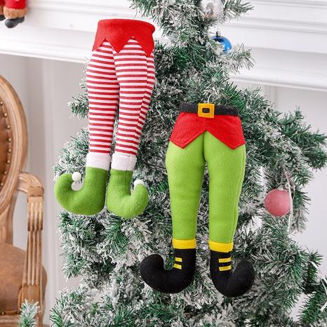 Christmas Ornaments Cute Elf Legs Window Decoration Pendant Wholesale Nihaojewelry  NHGAL419280's discount tags