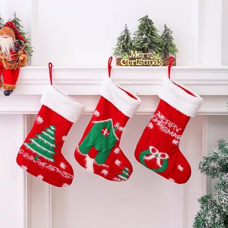 Nuevos calcetines de Navidad de punto colgante de ventana al por mayor Nihaojewelry NHGAL419282's discount tags