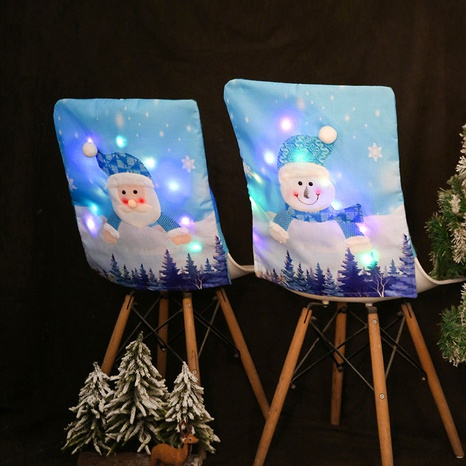 Christmas luminous chair cover with lights wholesale Nihaojewelry  NHGAL419309's discount tags