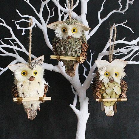 Creative Owl Pendant Handicraft Decoration Wholesale Nihaojewelry  NHGAL419312's discount tags