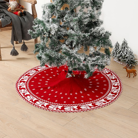 New Elk Knitted Christmas Tree Apron Ornament Wholesale Nihaojewelry  NHGAL419321's discount tags