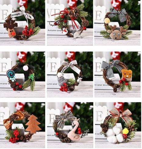 Decoraciones navideñas mini guirnalda navideña creativa al por mayor Nihaojewelry NHGAL419322's discount tags