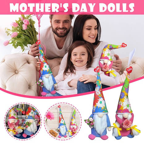 Cute Mother's Day Faceless Doll Decorations Holiday Gift Wholesale Nihaojewelry  NHGAL419330's discount tags