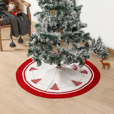 Circular Knitted Tree Base Apron Scene Decoration Supplies Wholesale Nihaojewelry  NHGAL419342's discount tags