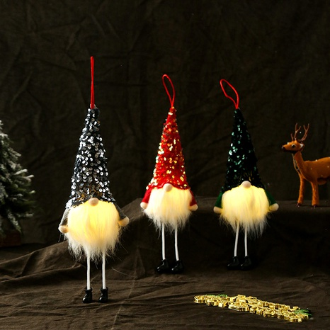 Christmas Long Legs Faceless Glowing Doll Decoration Wholesale Nihaojewelry  NHGAL419344's discount tags
