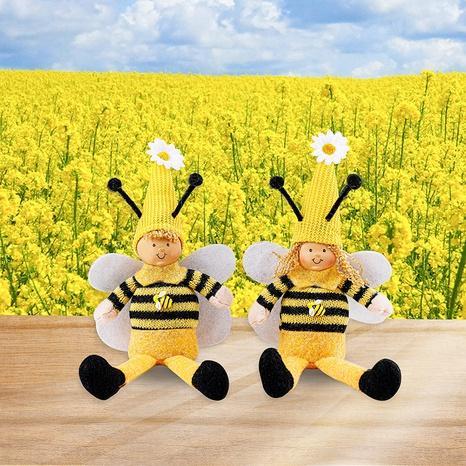 cute bee festival wings long-legged dwarf doll decoration wholesale Nihaojewelry  NHGAL419347's discount tags