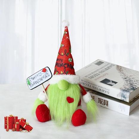 Sentado verde barba larga muñeca sin rostro muñeca al por mayor Nihaojewelry NHGAL419354's discount tags