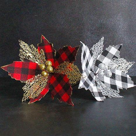 treillis de mode poudre d'or décoration d'arbre de Noël en gros Nihaojewelry NHGAL419357's discount tags